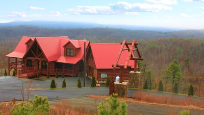 Photo for Amazing Blue Ridge Mtn View Cabin - Perfect for Reunions & Corporate Retreats!