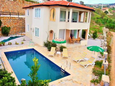 Photo for 3-Bedroom Villa Felix with private pool and gorgeous sea view