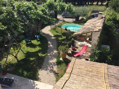 Photo for Mas with pool secure and private in PROVENCE AVIGNON LUBERON