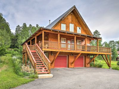 Photo for Alpine Home w/Deck, Grill and Star Valley Views!