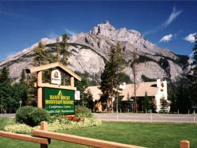 Photo for [MTD] - Banff Rocky Mountain Resort - 2 Bedroom