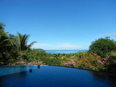 Photo for Casa Tranquila,    enjoy spectacular ocean sunsets from the vanishing edge pool!