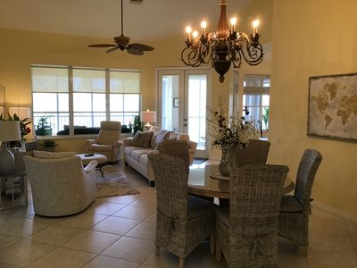 Spacious living & dinning room