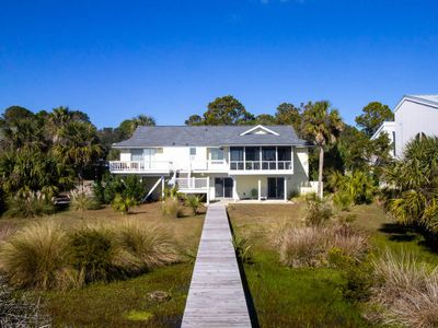 Photo for 711 Blue Fish - Oceanfront Four-Bedroom w/ TWO Living rooms! Wide Beach 24-7!