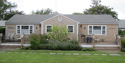 Photo for Charming 2 Bed, 1 Bath Cottage on Private Lane in Town w/Parking