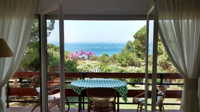 Photo for EXCEPTIONAL SEA VIEW. NEAR THE BEACH.  FREE WI FI