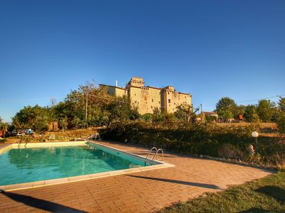 Photo for This medieval castle in Umbria dates from the 13th century.