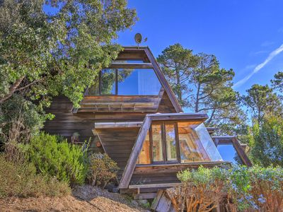Photo for Custom Cambria Tree House w/Ocean View & Hot Tub!