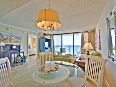 Photo for Updated Gulf Front Unit! 705 One Seagrove Place! Heated Pool! Large Balcony with amazing views!!