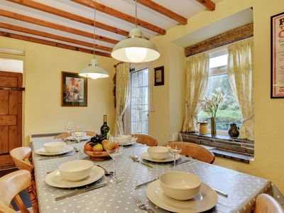 Photo for Bright holiday home with original wood beams, located in a natural setting