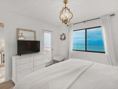 Photo for Beautiful 30A Beach Front Condo w/Amazing Views! Steps to Beach - 5 min Bike Ride To Seaside! Pool!