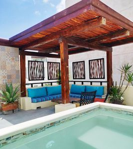 Photo for Private Pool Penthouse. A++ Location - Luxurious seclusion in the heart of Playa