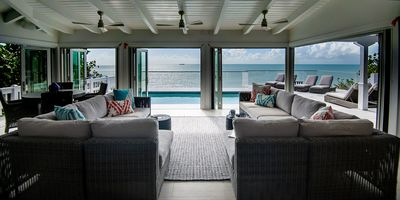 Oceanfront Villa - Private Dock for Snorkeling, 3 mins to Private Beach