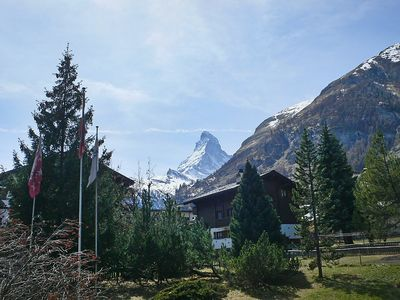 Photo for Apartment in the center of Zermatt with Lift, Balcony (45865)