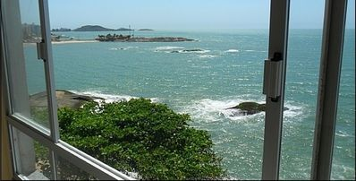 Photo for GUARAPARI - APARTMENT WITH FRONT SUITE TO THE SEA