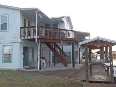 Waterfront (Canal) Home 450 yd To Copano Bay