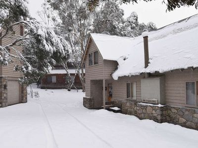 Photo for Bollygums - Bollygums - Perfect for winter or summer is a one bedroom and double loft semi-detached chalet located in the Woodridge area of Thredbo