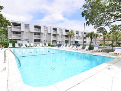 Photo for BEACHES OPEN & 1 BLOCK AWAY! CLEAN! Walk to FOOD, SHOPPING & MUSIC * WI-FI!
