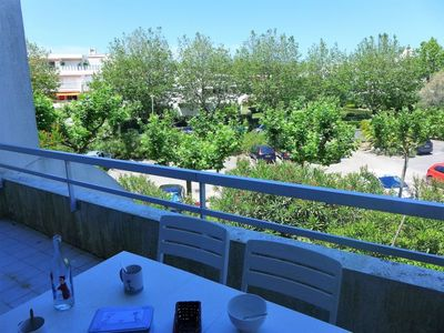 Photo for One bedroom Apartment, sleeps 4 in La Grande-Motte with WiFi
