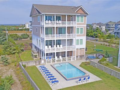 Photo for Ultra-Luxurious Oceanfront-Elevator, Pool, HotTub, Theater+Game Rms, DogFriendly