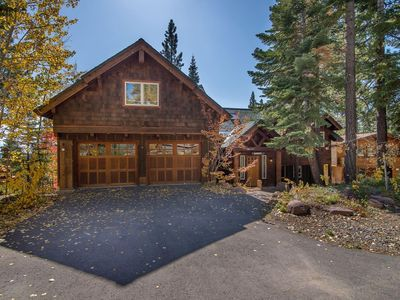 Photo for Beauty in Tahoe Vista w/ Lake Views & Hot Tub!