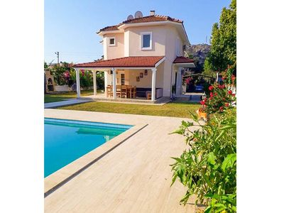 Photo for Villa Hairy: Large Private Pool, A/C, WiFi, Car Not Required