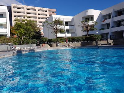 Photo for Casa Palmera 2 only 150 meters to the beach, heated pool, Wifi, SAT-TV, aircond
