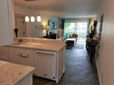 Photo for Peaceful, beautifully remodeled three bedroom beach condo