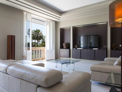 Photo for SPACIOUS LUXURY APARTMENT CANNES CROISETTE