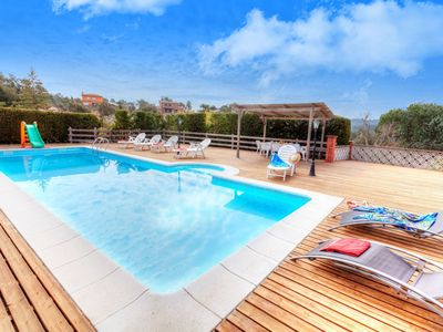 Photo for This 6-bedroom villa for up to 12 guests is located in Lloret De Mar and has a private swimming pool