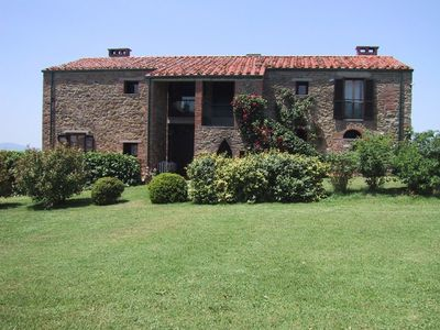 Photo for Exclusive Umbrian Country House with Beautiful Estate and Private Pool