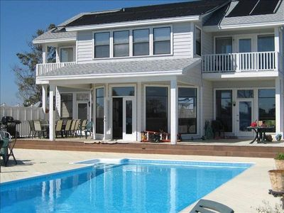 Photo for Large Family Beachhouse-Pool-Spa-Boat House! Family Friendly 5 Bdrms.