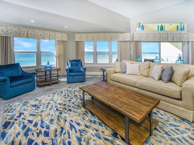 Photo for DAZZLING VIEWS!! COMPLETELY RENOVATED SPACIOUS PENTHOUSE!! CRYSTAL BEACH!!