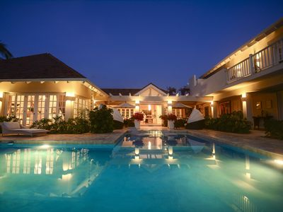 Photo for Colonial Luxury Golf & Ocean View Villa with live-in butler, chef & maid (5 BDR)