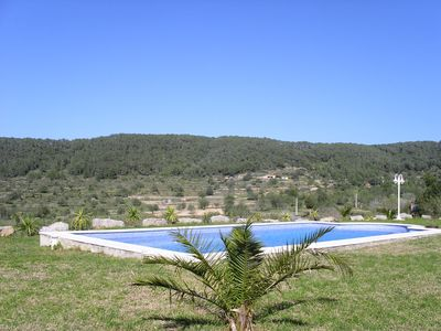 Photo for IDILICA HOUSE SURROUNDED BY NATURE AND WONDERFUL VIEWS TO THE SEA I TO SAN ANTONIO.