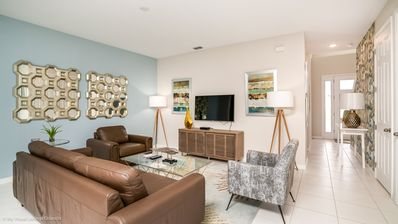 Photo for Beautifully furnished 4BD townhome in the Solara Resort!