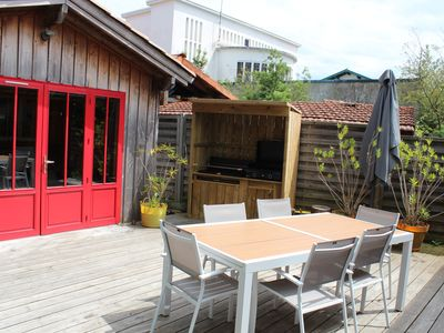 Photo for Wooden house in the heart of Cap-Ferret