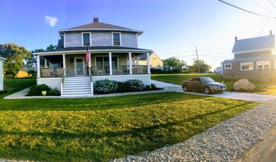 Photo for Lovely 4 bdrm/2 bath house with large front porch and beautiful ocean views