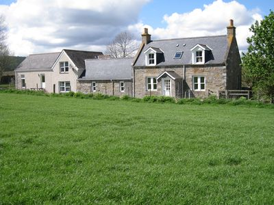 Photo for Comfortable Highland Speyside cottage with stunning views