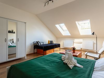 Photo for Central Attic Apartment - perfect for exploring Prague