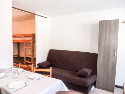 Photo for Apartment Ski Soleil in Les Menuires - 4 persons, 1 bedrooms