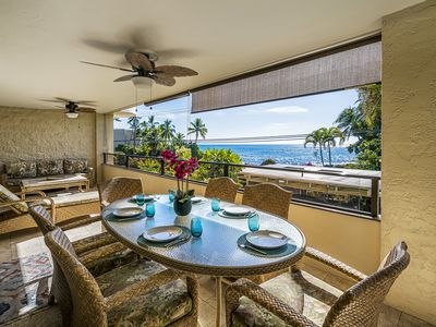 Photo for Spacious End Unit | Unobsructed Ocean View | Central AC | From $150/n