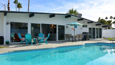 Photo for Totally updated mid-century Krisel home in central Palm Springs