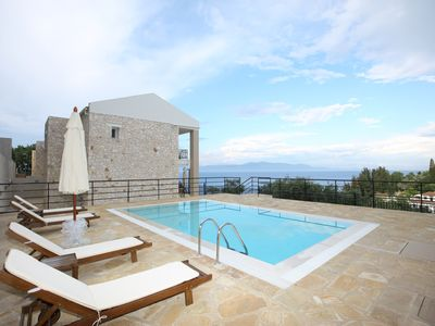 Photo for VILLA ERATO, 2 BEDROOM VILLA IN LOGGOS, PAXOS
