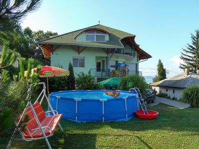 Photo for Holiday apartment With children's swing and pool