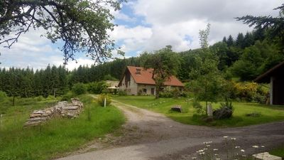 Photo for The Hut, in the woods, not far from the waterfalls
