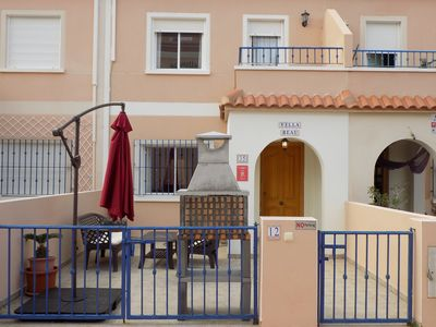 Photo for Two bed two bath townhouse with Sea Views, TV,  Wifi, solarium