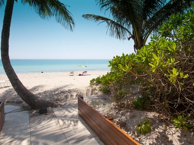 Ambassadors East provides private beach access for residents only.