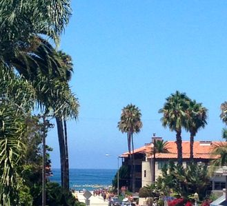 Photo for La Jolla Shores 'Ocean Breeze Getaway', large patio, partial ocean view,sunsets