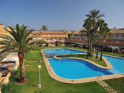 Photo for One bedroom Apartment, sleeps 3 in Javea with Pool